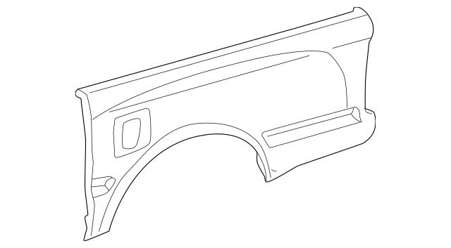1995-2004 Toyota Tacoma Outer Panel 65816-04030
