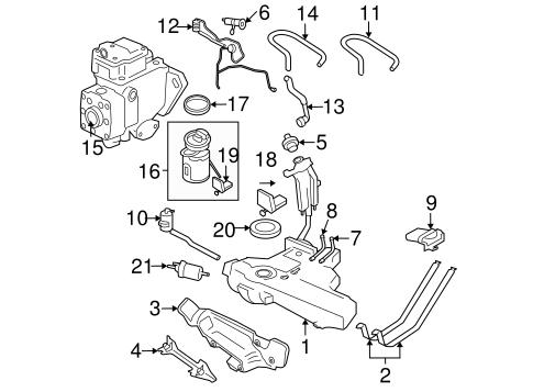 Fuel System Components for 2001 Volkswagen Beetle