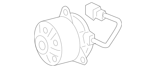 Toyota 16363-28170 Cooling Fan Motor Replacement Parts