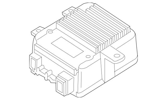 2004-2008 Mazda RX-8 Control Module F151-67-880D