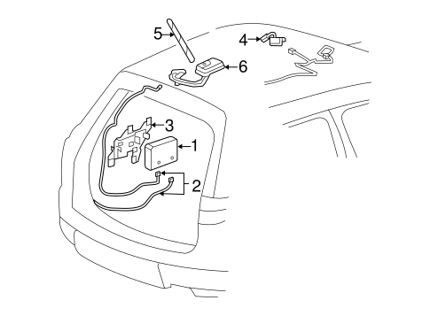 Communication System Components for 2011 Chevrolet