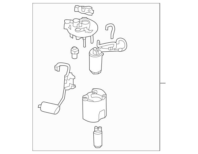 2011-2016 Hyundai Elantra Fuel Pump[device=moves Liquid