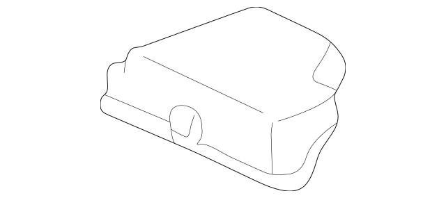 2001-2003 Toyota Prius Relay Box Upper Cover 82662-47030