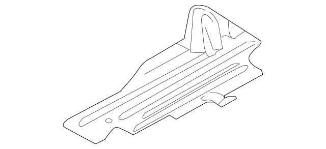 Under-body Shield for 2013 Ford C-Max|AV6Z-3811778-A