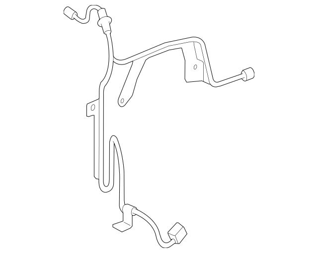 Genuine OEM ABS Sensor Wire Part# 89516-53040 Fits 2010
