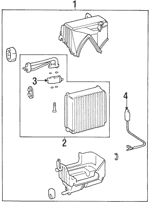 Condenser, Compressor & Lines for 2001 Hyundai Tiburon