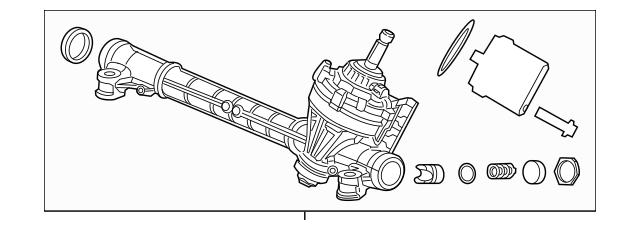 2013-2015 Acura ILX Rack, Power Steering 53601-TR6-A91