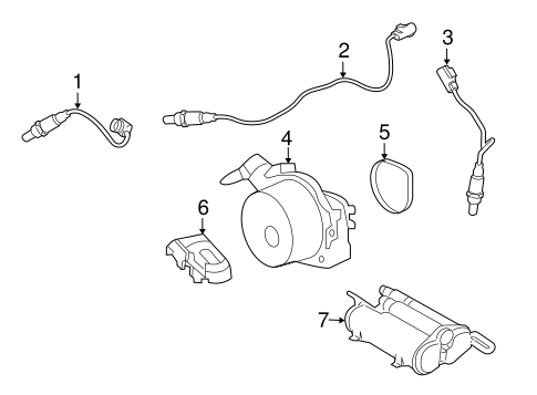 Emission Components for 2014 Land Rover LR4