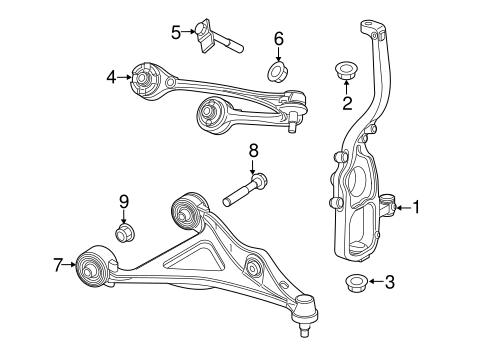 Suspension Components for 2017 Dodge Challenger