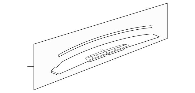 Genuine OEM Upper Trim Panel Part# 23224733 Fits 2007-2014