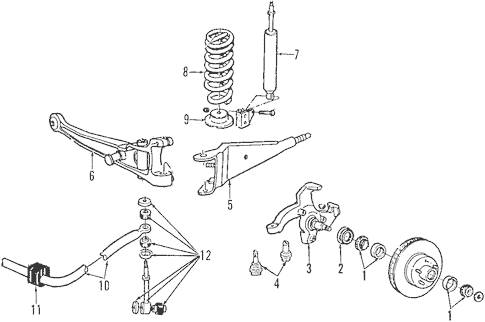 ford ka front suspension diagram wiring for trailer brakes plete lights electric and controller 2012 e 350 super duty quirk parts genuine oem
