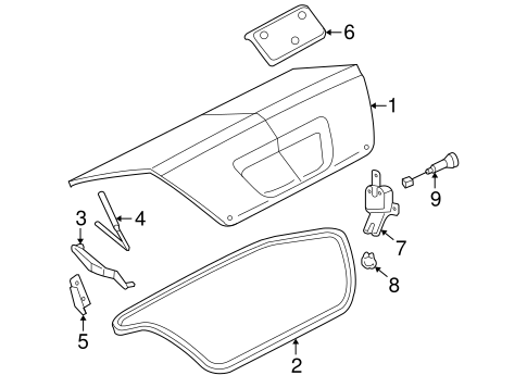 95 Camry Door Latch Diagram, 95, Free Engine Image For