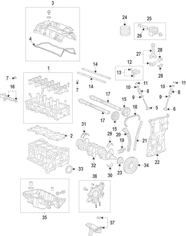 2018-2020 Honda ACCORD SEDAN Chain (166L) 14401-6A0-A01