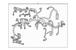 2011-2020 Toyota Sienna Wire Harness 82111-08C60