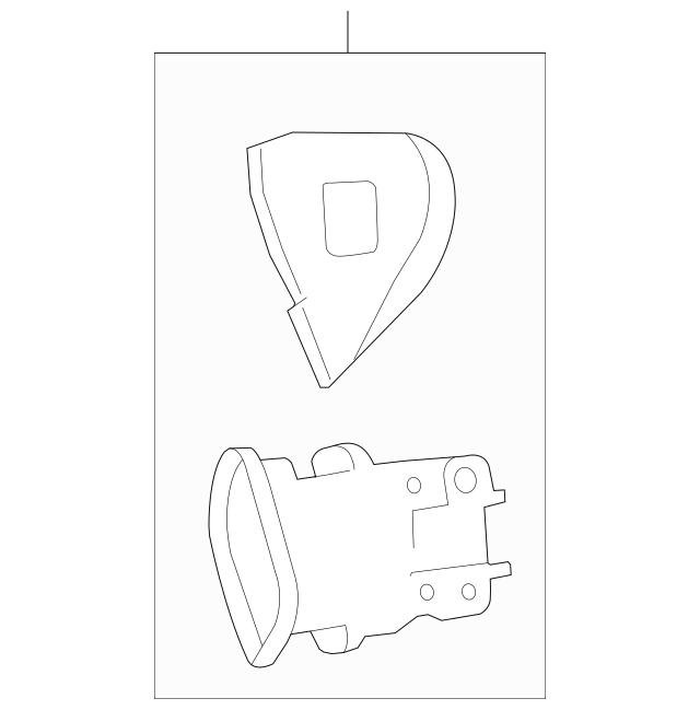 Honda Switch Assembly, Navigation Guide (35890-SVA-A01