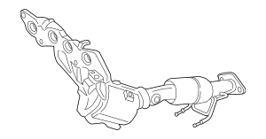 2017 Ford Fusion Catalytic Converter With Integrated