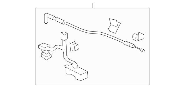 Opener Assembly, Cargo Lid *NH533* (Bumper Dark Gray