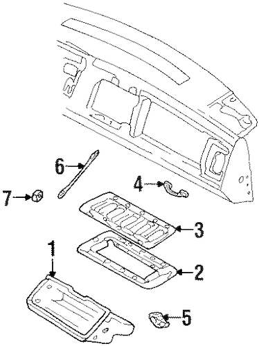 INSTRUMENT PANEL for 1992 Chevrolet C1500