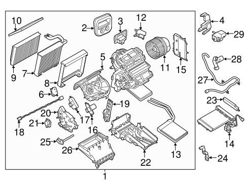 Auxiliary Heater & AC for 2014 Ford Transit Connect