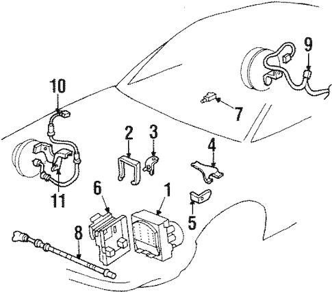 OEM ANTI-LOCK BRAKES for 1999 Buick LeSabre