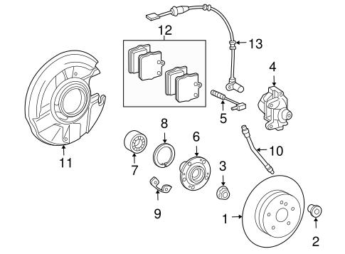 Anti-Lock Brakes for 2005 Chrysler Crossfire