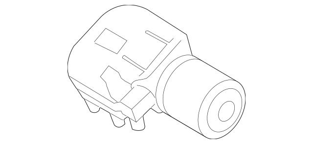 2011-2018 Volkswagen Jetta Wiper Motor 5C7-955-113-D