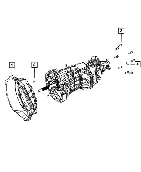 Manual Transmission / Transaxle for 2015 Dodge Viper