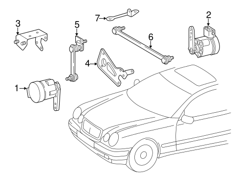 Electrical Components for 2003 Mercedes-Benz CLK 320