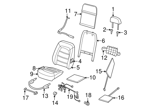 POWER SEATS for 2005 Mercury Mountaineer
