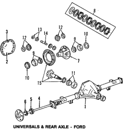 details about genuine ford side gear kit ar3z 4215 a [ 1000 x 1019 Pixel ]