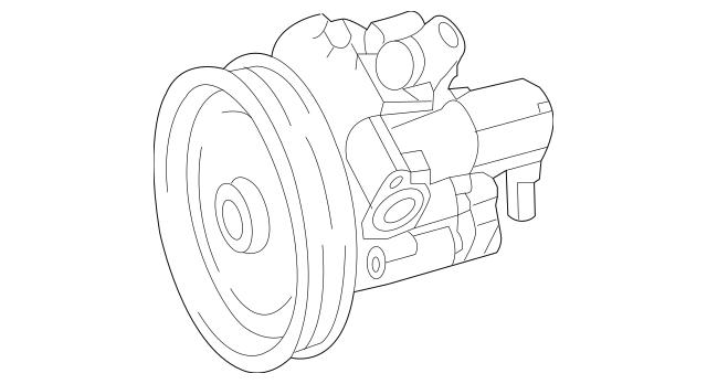 Mercedes-Benz Remanufactured Power Steering 006-466-88-01