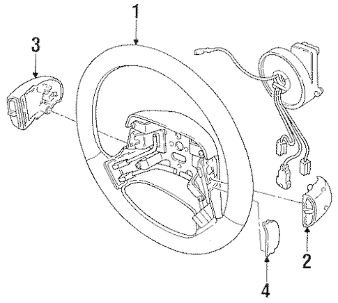 Steering Column Wiring Diagram 2000 Lincoln Continental