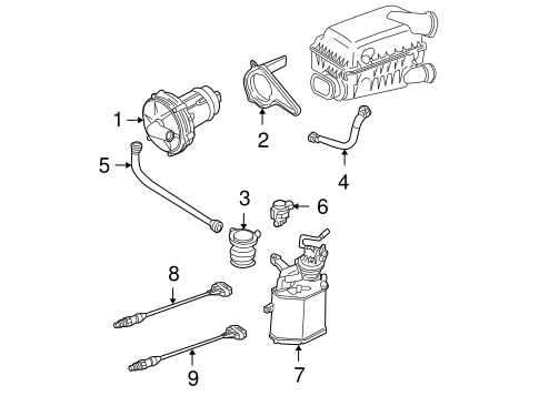 Secondary Air Injection System for 2003 Volkswagen Beetle