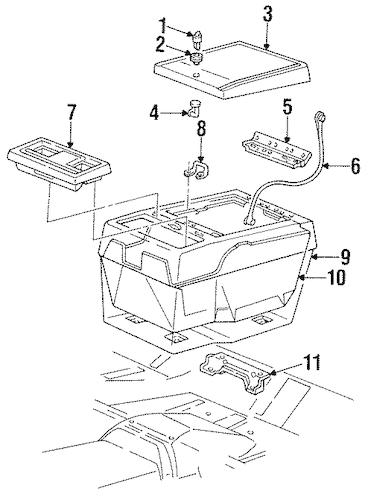 INSTRUMENT PANEL Parts for 1991 Chevrolet Blazer