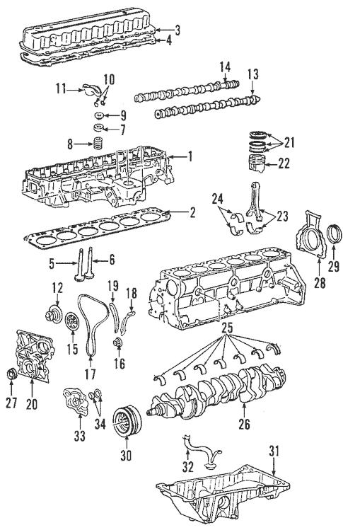 Engine Parts for 2007 Chevrolet Trailblazer