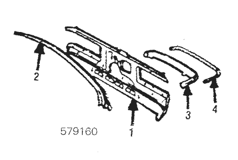 Rear Floor & Rails for 1984 Mercedes-Benz 300 CD