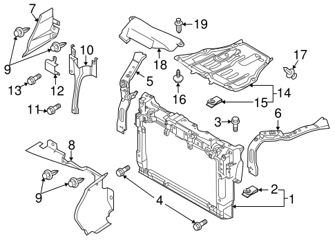 2007 Mazda 6 Front Bumper Diagram 2007 Mazda 6 Fuel Pump