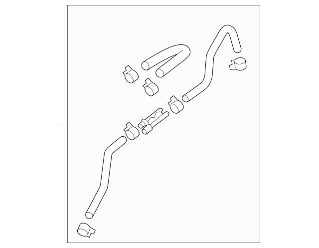 Buy this Genuine 2011-2016 Kia Sportage Vacuum Hose 59130