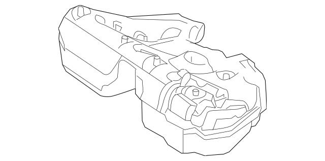 2004-2011 Mercedes-Benz Fuel Tank 211-470-25-02