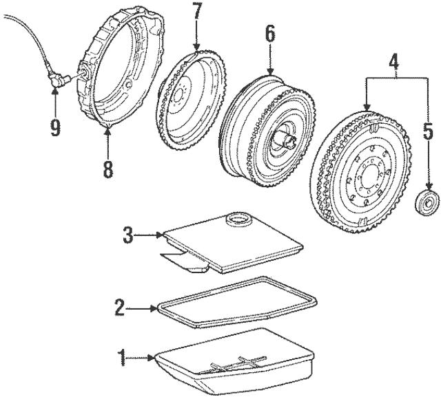 1991-1998 Porsche Crankshaft Position Sensor 911-606-217