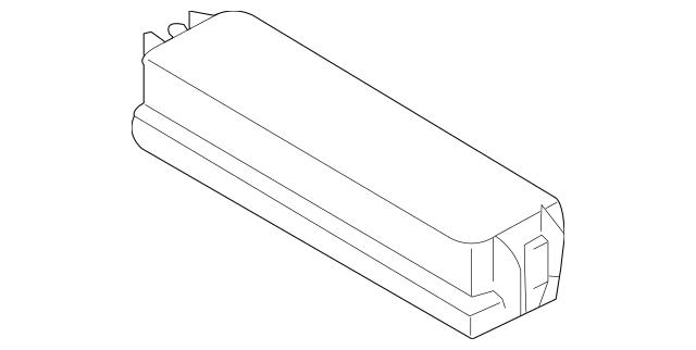 2005-2006 Infiniti G35 Fuse Box Cover 24312-7W100