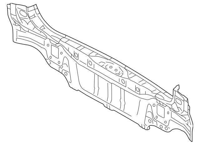 2010-2014 Subaru Outback Rear Body Reinforced 52401AJ00A9P
