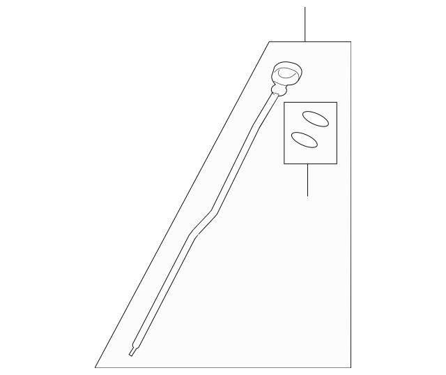 2009 Saturn Outlook Transmission Dipstick