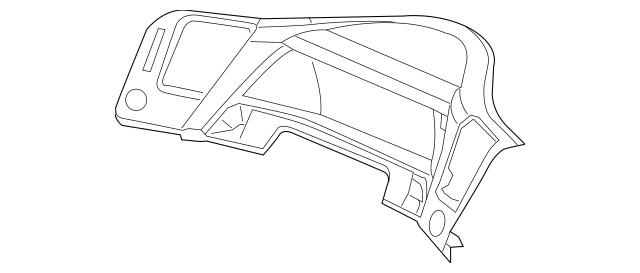Visor Assembly, Sub Meter *NH809L* (Dark Gray Satin