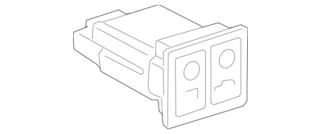 2005-2010 Toyota Avalon Trunk Lid Switch 84840-51010-B2