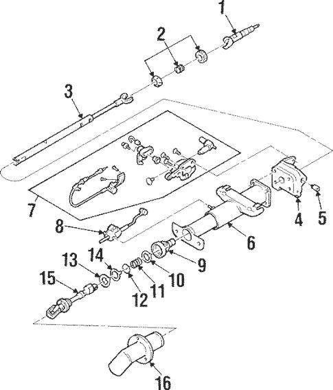 Shaft & Internal Components for 2001 Pontiac Grand Prix