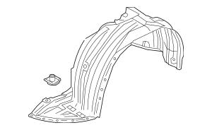 2010-2019 Mazda CX-9 Fender Liner TE73-56-140A