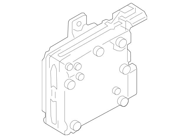 2012-2015 Subaru Impreza Control Module 34710FJ002