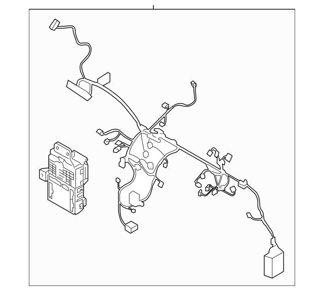 2014-2015 Hyundai Tucson Wire Harness 91011-2S301