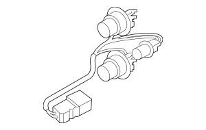 2019 Hyundai Veloster Socket & Wire 92491-J3010